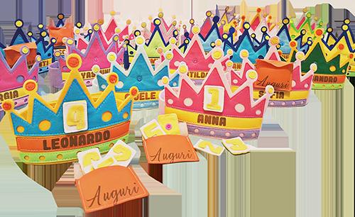 Il modo piu orginale per festeggiare le feste con la corona bubabebi
